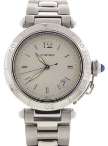Cartier Cartier Pasha Silver Dial 39mm Automatic Steel Mens Watch 1040
