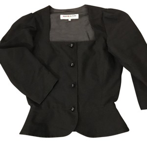 Saint Laurent Poplin black Blazer