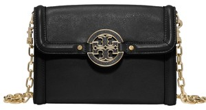Tory Burch Amanda chain wallet black Cross Body Bag
