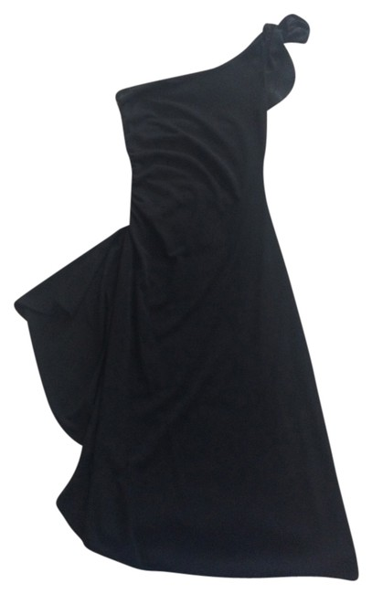 Preload https://item4.tradesy.com/images/black-knee-length-night-out-dress-size-2-xs-2024408-0-0.jpg?width=400&height=650