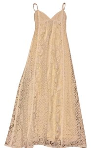 Cream Maxi Dress by VENUS