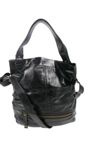Latico Black Messenger Bag