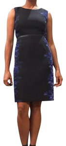 Elie Tahari Print Leather Dress