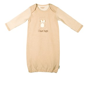 Eotton Certified Organic Cotton Long Sleeve Baby Shirt- Medium (12-24 months)