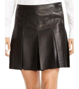 Ralph Lauren Soft Leather Lamb Musthave Skirt black