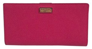 Kate Spade Nwt Kate Spade New York Stacy Sweetheart Pink Slim Bifold Wallet