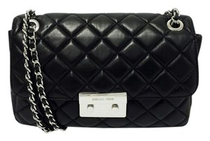 Michael Kors Sloan Large Quilted Lambskin Leather Shoulder Bag