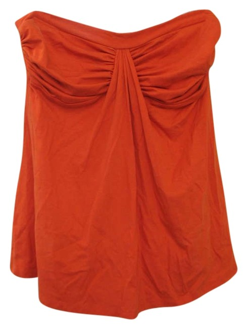 Susana Monaco Strapless Top Orange