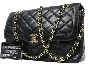 Chanel Medium Jumbo Quilted Two-tone Shoulder Bag