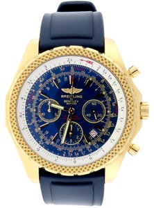 Breitling Breitling Bentley Motors Special Yellow Gold 48MM Blue Dial K25362