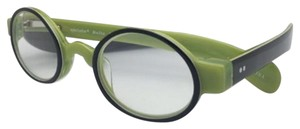Eye Bobs Readers EYE BOBS Eyeglasses BELLO 2250 14 +1.25 43-24 Black on Green
