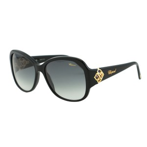 Chopard Chopard SCH 131S Women Imperiale Collection Swarovski Black Sunglasses