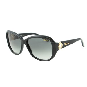 Chopard Chopard SCH 148S Women Rectangular Floating Zircon Crystals Sunglasses