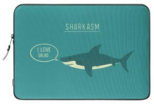 Society6 Sharkasm Hilarious Laptop Sleeve
