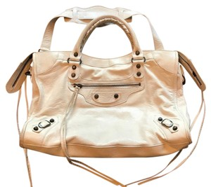 Balenciaga Satchel in Cream