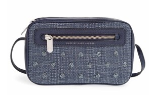 Marc by Marc Jacobs Denim Sally Cross Body Bag