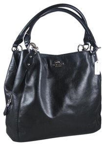 Coach Leather Colette Shoulder Bag