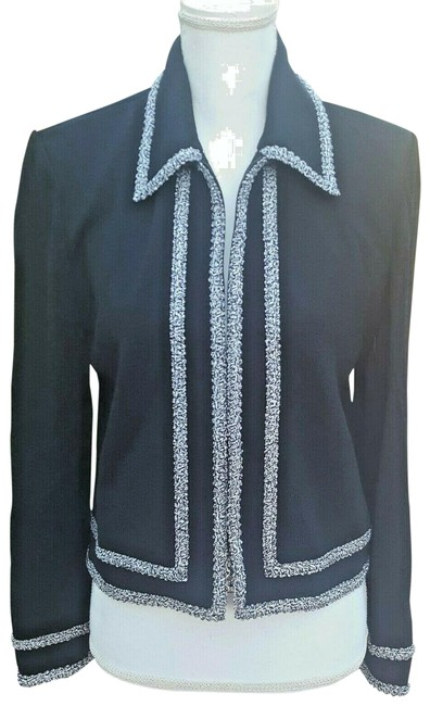 St. John Black Collection Sweater By Marie Gray Cardigan Size 8 (M) St. John Black Collection Sweater By Marie Gray Cardigan Size 8 (M) Image 1