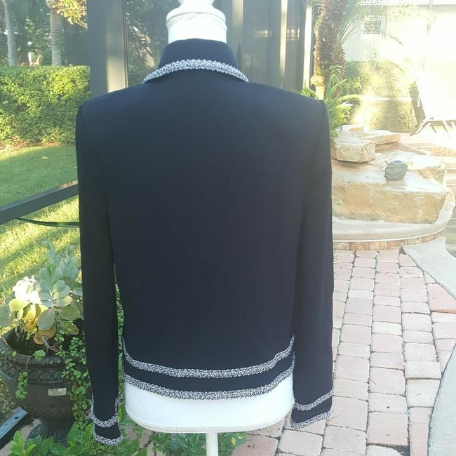 St. John Black Collection Sweater By Marie Gray Cardigan Size 8 (M) St. John Black Collection Sweater By Marie Gray Cardigan Size 8 (M) Image 2