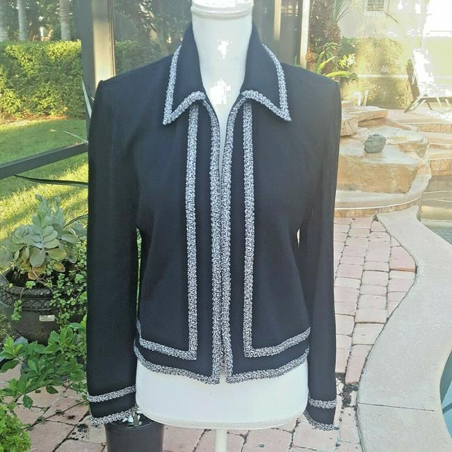 St. John Black Collection Sweater By Marie Gray Cardigan Size 8 (M) St. John Black Collection Sweater By Marie Gray Cardigan Size 8 (M) Image 10