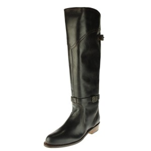 Frye Riding Belted Dorado Tall New black Boots