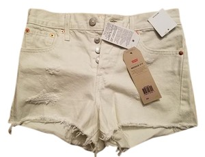 Levi's Cut Off Shorts White/Off white