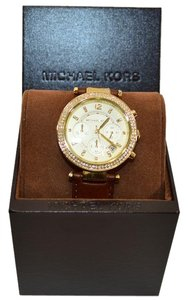 Michael Kors New Ladies Gold Watch MK2249