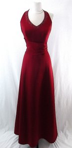 Alfred Angelo Claret Style Dress