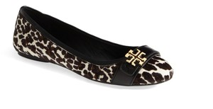 Tory Burch Black/Brown/Cream Flats