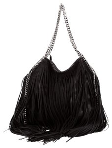 Stella McCartney Shaggy Deer Tote in Black