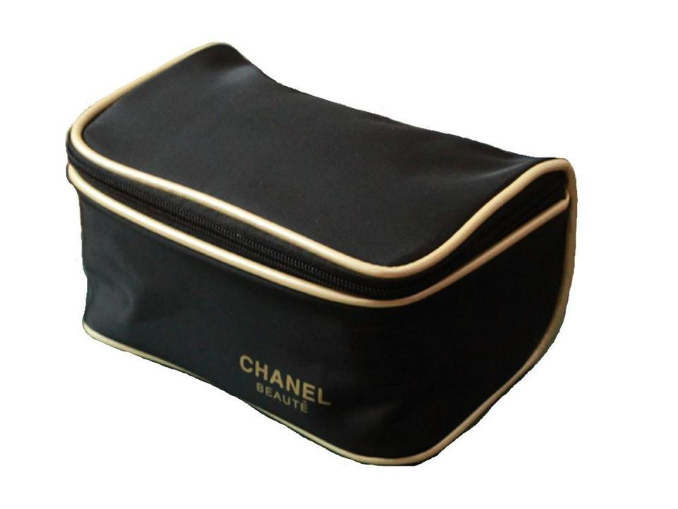 4945700b1be6 Chanel Beaute Chanel Cosmetic Makeup Brush Travel Beauty Case Gift Bag Pouch  Image 2. 123