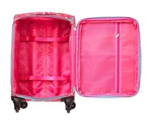 Lilly Pulitzer Lilly Pulitzer Limited Ed Sea Blue Flirty Carry On Suitcase & BONUS!