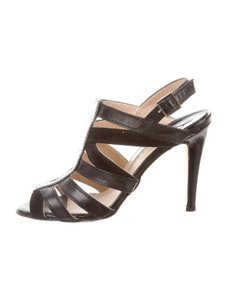 Manolo Blahnik Blahnic Black Sandals