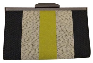 Rachel Roy Gray, Yellow Clutch