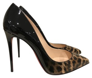 Christian Louboutin Pigalle Sokate Follies Leopard Stiletto Pumps