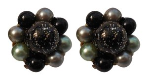 Other Magnificent Vintage Cluster Clip On Earrings