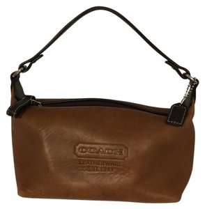 Coach Leatherware Wristlet in Brown