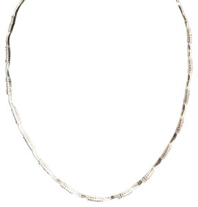 Dignity jewels 18K White Gold Necklace/Diamond- 1.20ct/Gold- 13Grams