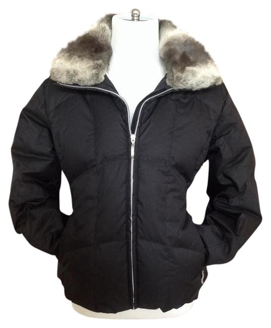 Item - Black Down Insulated Coat Size 10 (M)