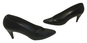 Stuart Weitzman Made In Spain Width Navy all leather 3