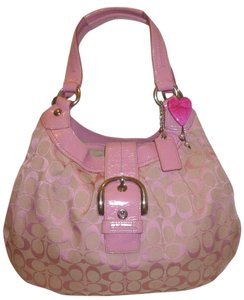 Coach New X-lg Monogram Hobo Bag