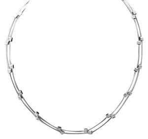 Dignity Jewels 18K White Gold Necklace/Diamond- 1.96ct/Gold- About 30 Grams