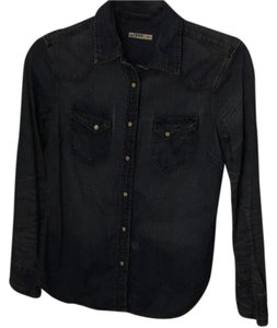 Gap Button Down Shirt Chambray