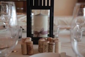 White Pillar Candles For Centerpieces