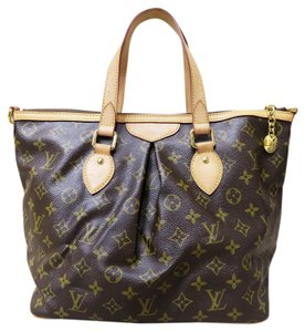 Louis Vuitton Lv Palermo Pm Canvas Tote in monogram