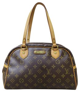 Louis Vuitton Lv Monogram Montorgueil Pm Canvas Shoulder Bag