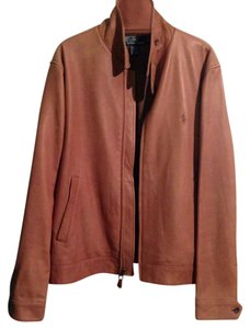Polo Ralph Lauren Tan Leather Jacket
