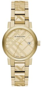 Burberry Swiss Gold Ion-Plated Stainless Steel Bracelet Watch 34mm BU9145