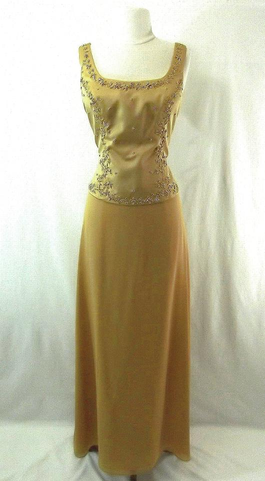 Aspeed Designs Gold Polyester Style 30043 Formal Bridesmaid/Mob ...