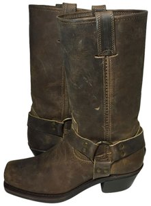 Frye 77300 Harness 7.5 Motorcycle Women Size 7.5 Brown Boots